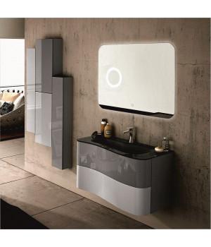 Зеркало в ванную с внутренней подсветкой Аква